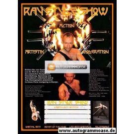 Autogramm Show | Ray STYLE | 2010er (Portrait Color)