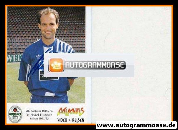 Autogramm Fussball   VfL Bochum   1991 Atlantis   Michael HUBNER