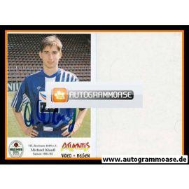Autogramm Fussball | VfL Bochum | 1991 Atlantis | Michael KLAUSS