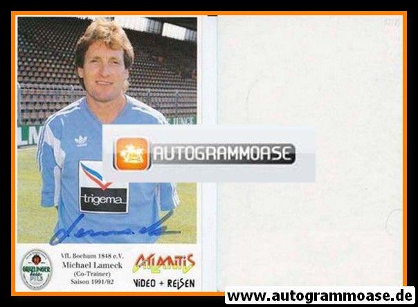Autogramm Fussball | VfL Bochum | 1991 Atlantis | Michael LAMECK