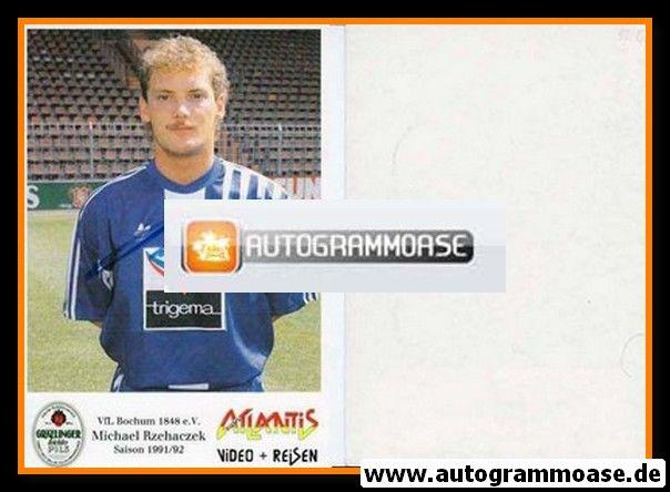 Autogramm Fussball   VfL Bochum   1991 Atlantis   Michael RZEHACZEK