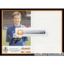 Autogramm Fussball | VfL Bochum | 1991 Atlantis | Thorsten SCHMUGGE