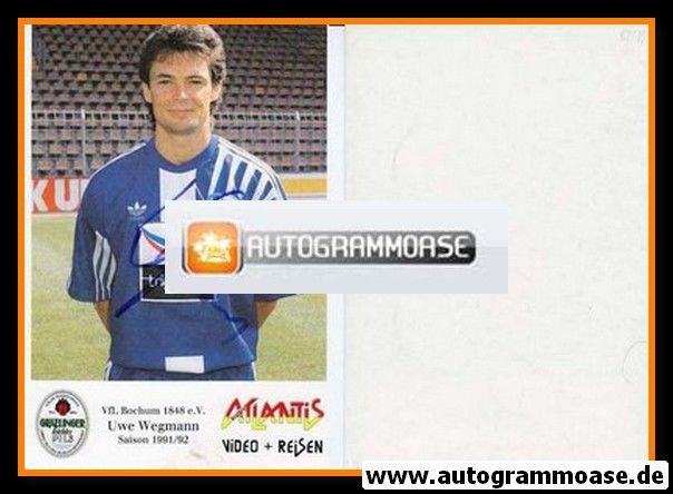 Autogramm Fussball   VfL Bochum   1991 Atlantis   Uwe WEGMANN