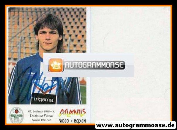 Autogramm Fussball | VfL Bochum | 1991 Atlantis | Dariusz WOSZ