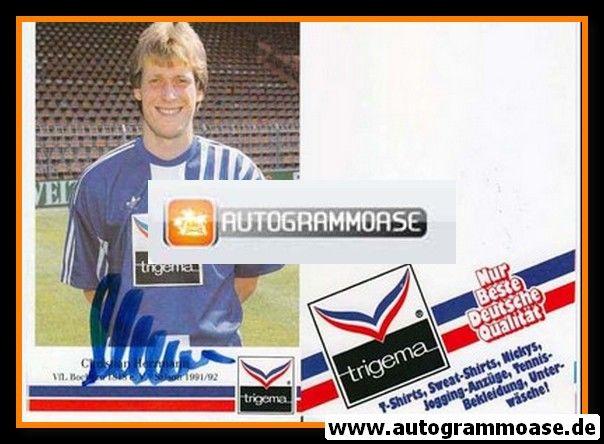 Autogramm Fussball | VfL Bochum | 1991 Trigema | Christian HERRMANN