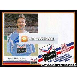 Autogramm Fussball | VfL Bochum | 1991 Trigema | Walter OSWALD