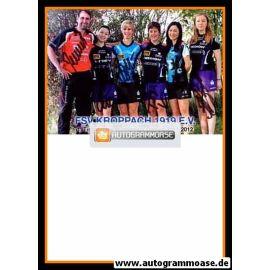 Autogramme Tischtennis | FSV Kroppach (Damen) | 2011 | TEAM