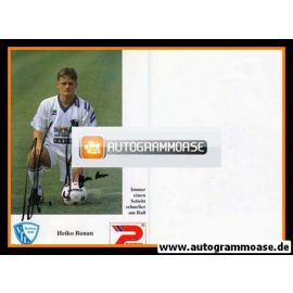 Autogramm Fussball   VfL Bochum   1992   Heiko BONAN