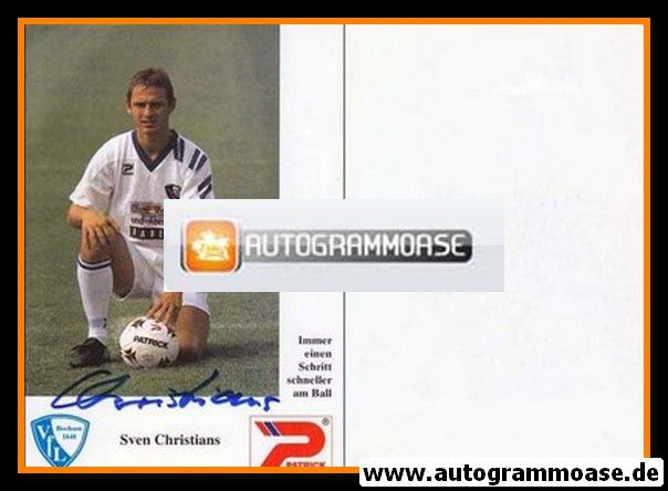 Autogramm Fussball | VfL Bochum | 1992 | Sven CHRISTIANS