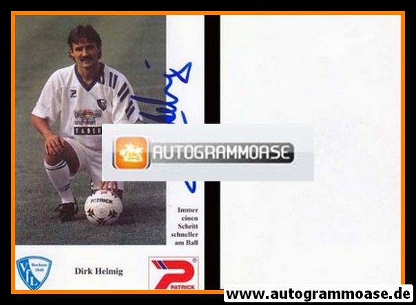 Autogramm Fussball   VfL Bochum   1992   Dirk HELMIG