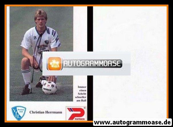 Autogramm Fussball | VfL Bochum | 1992 | Christian HERRMANN