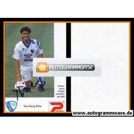 Autogramm Fussball | VfL Bochum | 1992 | Yoo-Sung KIM