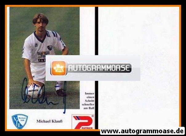 Autogramm Fussball | VfL Bochum | 1992 | Michael KLAUSS