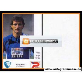 Autogramm Fussball | VfL Bochum | 1992 | Bernd KLOTZ
