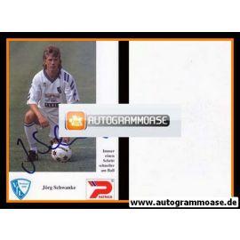 Autogramm Fussball | VfL Bochum | 1992 | Jörg SCHWANKE