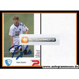 Autogramm Fussball   VfL Bochum   1992   Peter ZANTER
