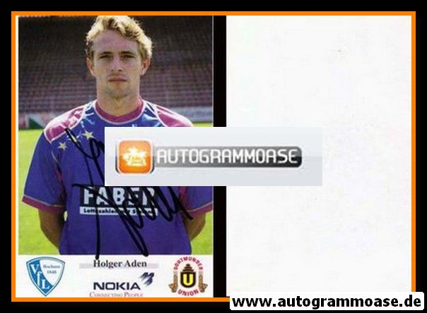Autogramm Fussball   VfL Bochum   1993   Holger ADEN