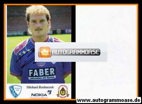 Autogramm Fussball | VfL Bochum | 1993 | Michael RZEHACZEK
