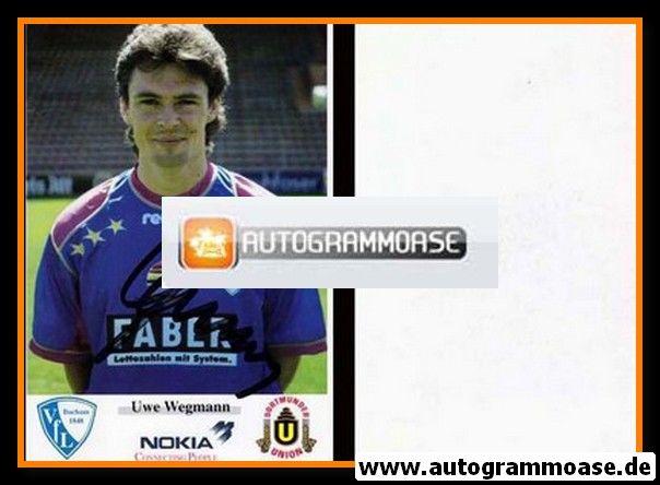 Autogramm Fussball | VfL Bochum | 1993 | Uwe WEGMANN