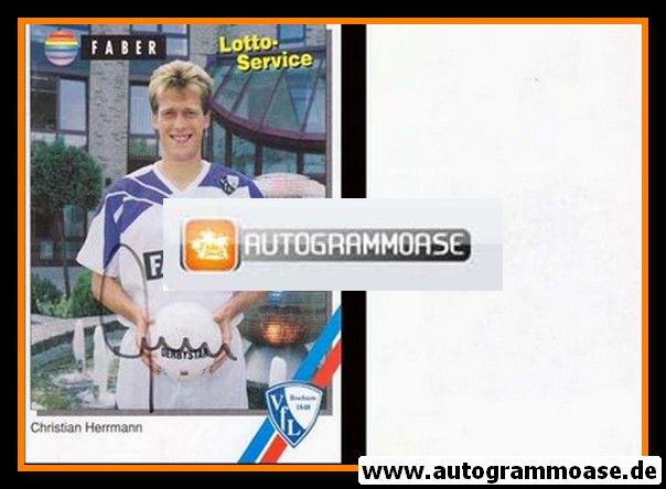 Autogramm Fussball | VfL Bochum | 1994 | Christian HERRMANN