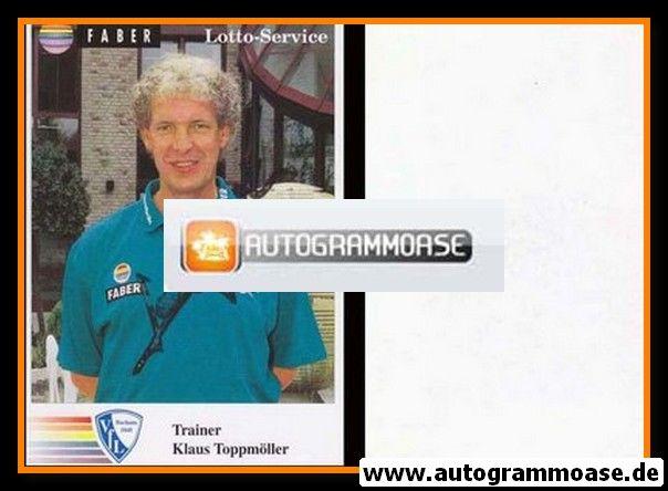 Autogramm Fussball | VfL Bochum | 1994 | Klaus TOPPMÖLLER