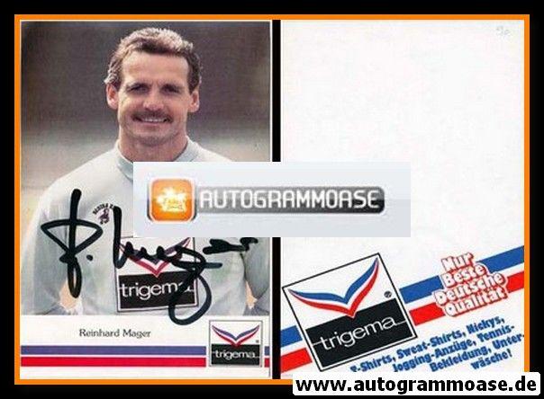 Autogramm Fussball | Hertha BSC Berlin | 1990 | Reinhard MAGER