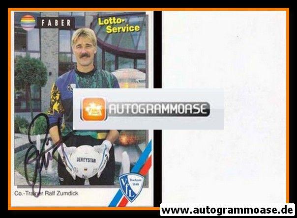 Autogramm Fussball   VfL Bochum   1994   Ralf ZUMDICK
