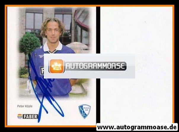 Autogramm Fussball | VfL Bochum | 1996 | Peter KÖZLE