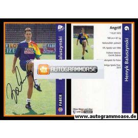 Autogramm Fussball | VfL Bochum | 1997 | Henryk BALUSZYNSKI