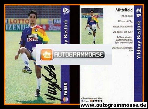 Autogramm Fussball | VfL Bochum | 1997 | Yildiray BASTÜRK