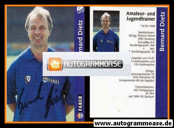 Autogramm Fussball | VfL Bochum | 1997 | Bernard DIETZ