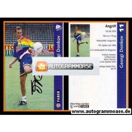 Autogramm Fussball | VfL Bochum | 1997 | Georgi DONKOV