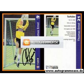 Autogramm Fussball | VfL Bochum | 1997 | Thomas ERNST