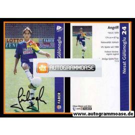 Autogramm Fussball | VfL Bochum | 1997 | Nesat GÜLÜNOGLU