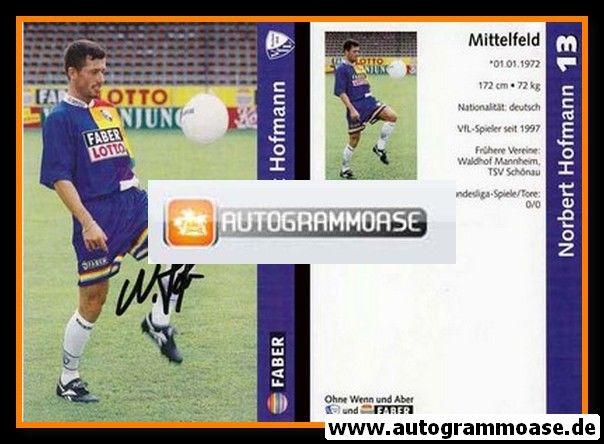 Autogramm Fussball   VfL Bochum   1997   Norbert HOFMANN