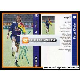 Autogramm Fussball   VfL Bochum   1997   Peter KÖZLE
