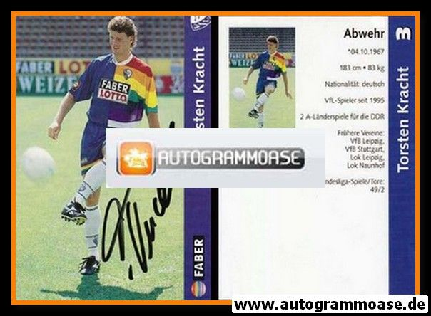 Autogramm Fussball   VfL Bochum   1997   Torsten KRACHT