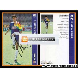 Autogramm Fussball | VfL Bochum | 1997 | Zoran MAMIC