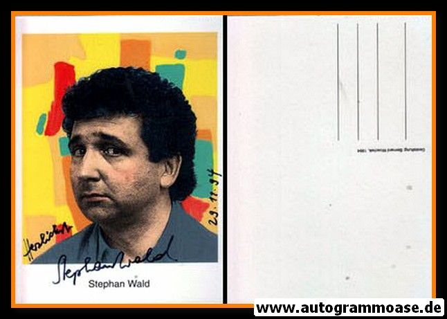 Autogramm Kabarett | Stephan WALD | 1990er (Portrait Color)