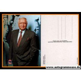 Autogramm TV | ARD | Werner VEIGEL | 1980er (Portrait Color) Rüdel
