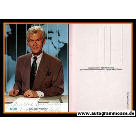 Autogramm TV | NDR | Wilhelm WIEBEN | 1980er (Portrait Color) Rüdel