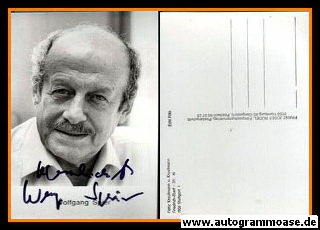 Autogramm Schauspieler | Wolfgang SPIER | 1980er (Portrait SW Rüdel)
