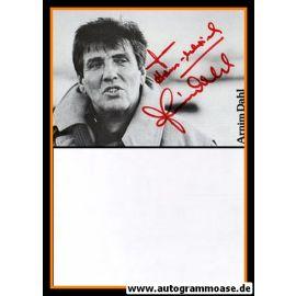 Autogramm Schauspieler   Arnim DAHL   1990er (Portrait SW)