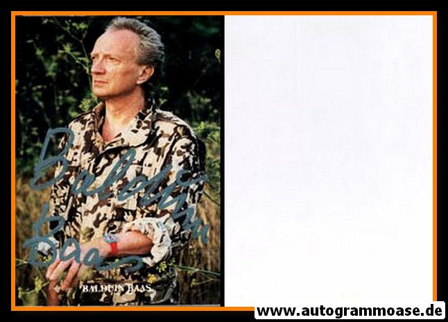Autogramm Schauspieler | Balduin BAAS | 1980er (Portrait Color)