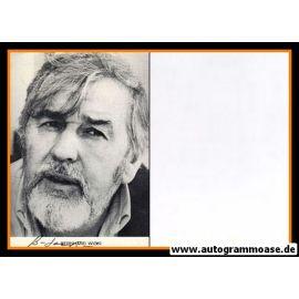 Autogramm Schauspieler   Bernhard WICKI   1980er (Portrait SW)