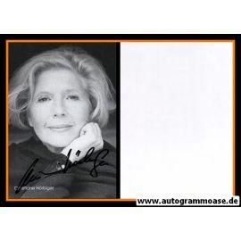 Autogramm Schauspieler | Christiane HÖRBIGER | 1980er (Portrait SW) 2
