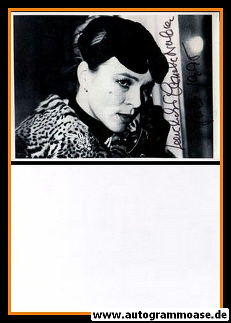 """Autogramm Film   Cornelia FROBOESS   1982 """"Die Sehnsucht"""""""