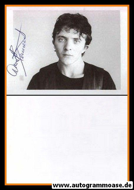 Autogramm Schauspieler | David BENNENT | 1980er (Portrait SW)