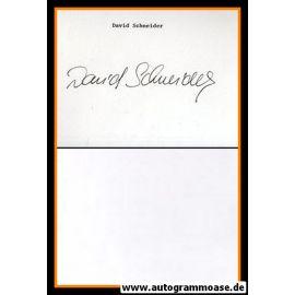 Autogramm Film (UK) | David SCHNEIDER (Autograph)