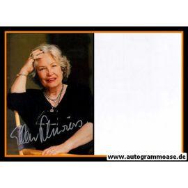 Autogramm Schauspieler | Ellen SCHWIERS | 1980er (Portrait Color)